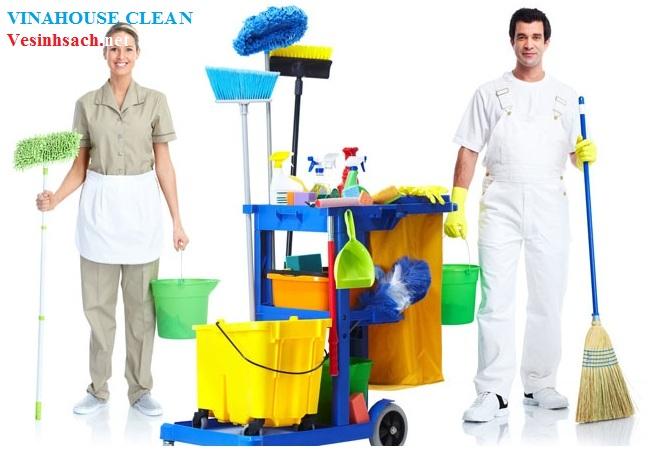Dịch vụ dọn vệ sinh của Vinahouse Clean